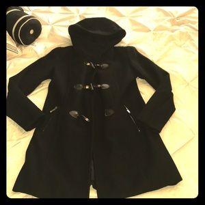 BCBGMaxAzria Wool blend trench coat (M)